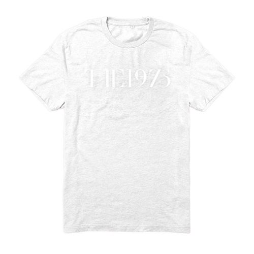 The 1975: The 1975 - Embroidered Logo White Large Tee