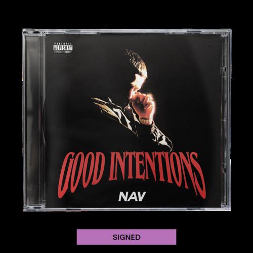 Nav: Good Intentions CD + Digital Album