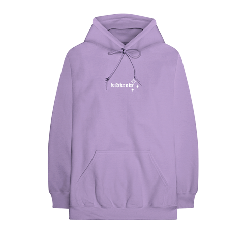 Conan Gray: KID KROW EMBROIDERED PURPLE HOODIE