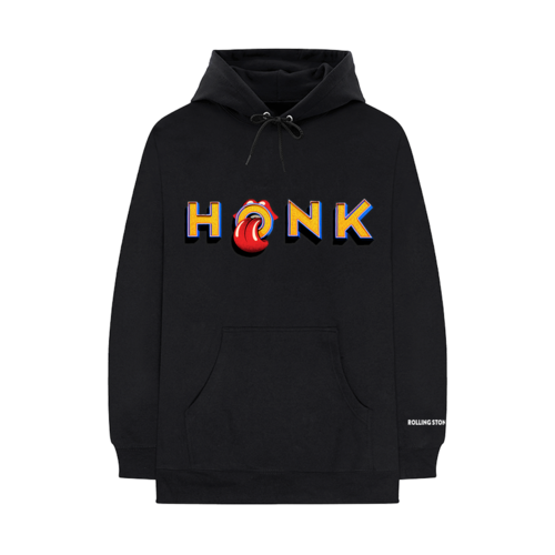 The Rolling Stones: Honk Black Album Hoodie - S