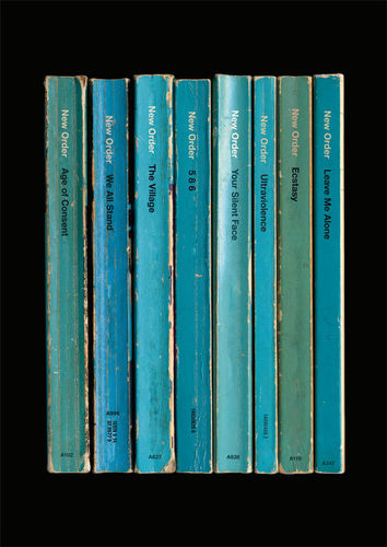 New Order: 'Power, Corruption & Lies' Album As Books Art Print