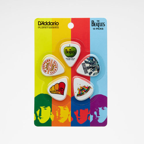 Abbey Road Studios: The Beatles Albums Plectrum Pack of 10