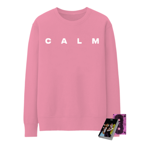 5 Seconds of Summer: CALM PINK CASSETTE + CALM EMBROIDERED PINK CREWNECK