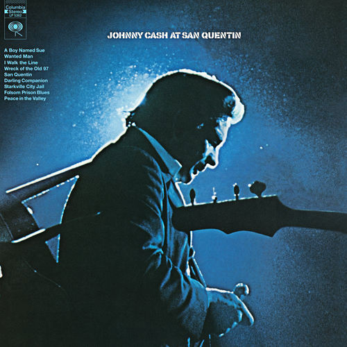 Johnny Cash: At San Quentin: Vinyl LP