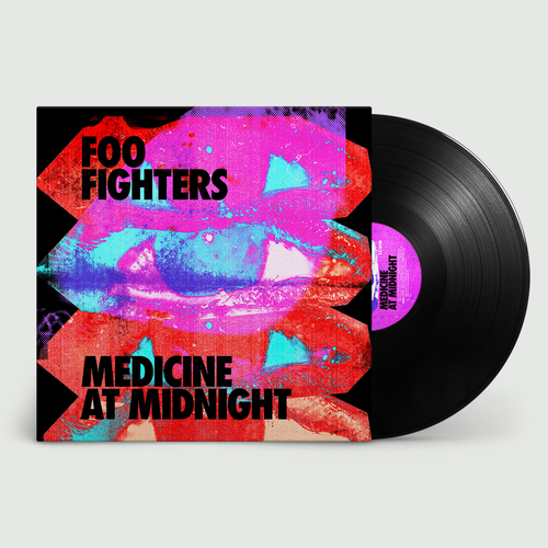 Foo Fighters: Medicine At Night: Black Vinyl