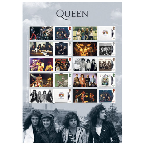 Queen: Album Cover Collector's Sheet