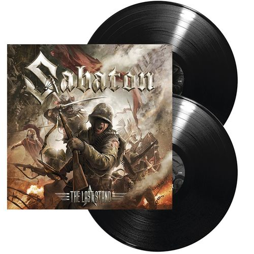 Sabaton: The Last Stand: Ltd Edition Gatefold Double Vinyl LP