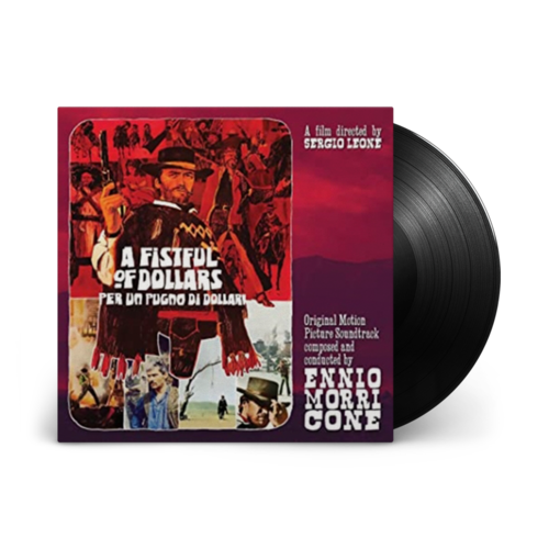 Ennio Morricone: A Fistful Of Dollars: Limited Edition Gatefold 10