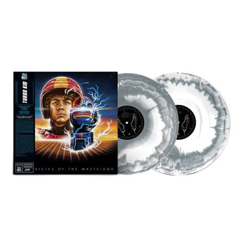 Original Soundtrack: Turbokid: Limited Edition Silver and White Swirl Vinyl