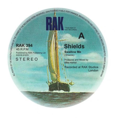 Shields: Swallow Me/Chequered Love: Signed