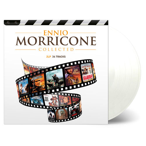 Ennio Morricone: Collected: Numbered Clear Vinyl