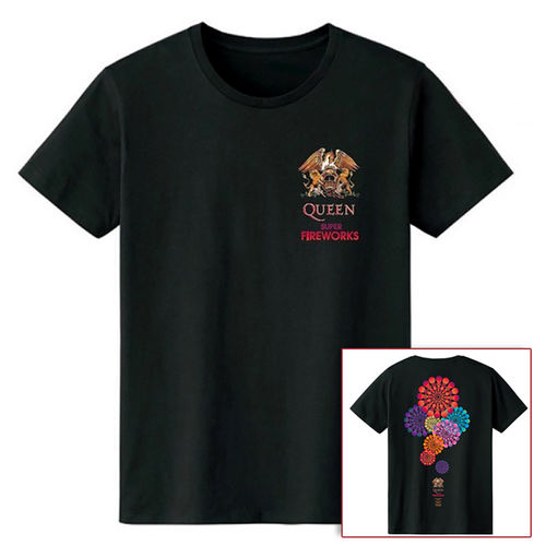 Queen: Super Fireworks T-Shirt - S