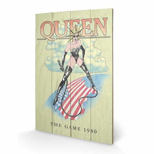 Queen: Queen 'The Game 1980' Wooden Print
