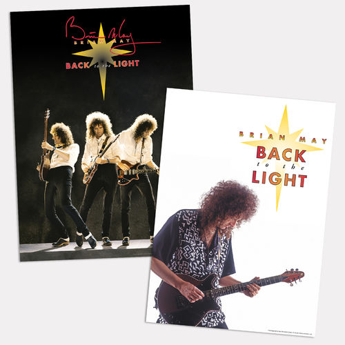 Brian May: Back To The Light Poster Set
