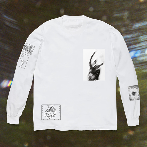 Ben Howard: Collections From The Whiteout: Ben Howard x Island Records: White Longsleeve