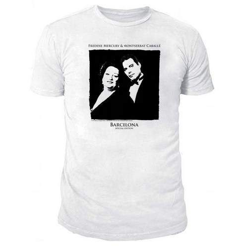 Freddie Mercury: Freddie Mercury and Montserrat Caballé T-Shirt - Small