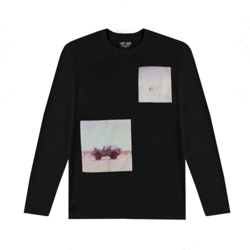 Lady Gaga: Polaroid Black Long Sleeve