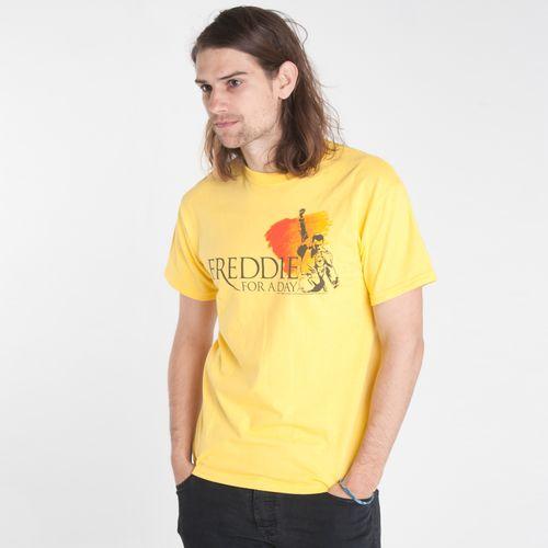 Freddie For A Day: T-Shirt gialla con Logo Freddie For A Day