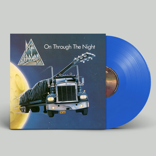 Def Leppard: On Through The Night: Exclusive Limited Edition Blue Vinyl