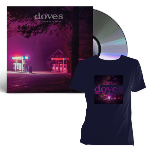 Doves: The universal Want CD + T-Shirt