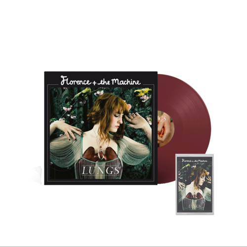 Florence + The Machine: Lungs 10th Anniversary Coloured Vinyl + Cassette