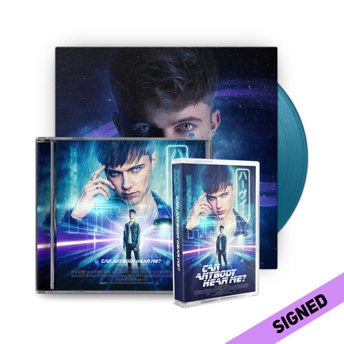 HRVY: Can Anybody Hear Me? Signed Standard CD & Cassette & Blue LP