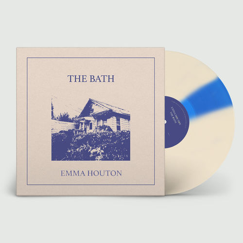 Emma Houton: The Bath: Recordstore Exclusive Signed Edition Cream & Blue Twist Vinyl