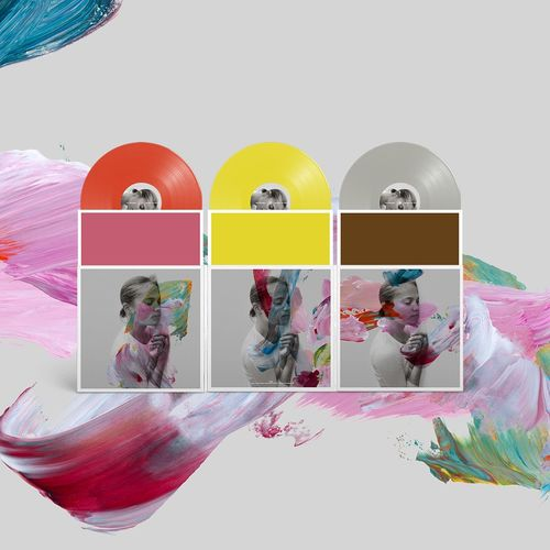 The National: I Am Easy To Find: Deluxe Limited Edition Red, Grey and Yellow Triple Vinyl