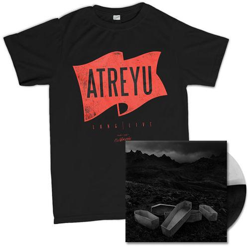Atreyu: Flag T-Shirt And Vinyl Bundle