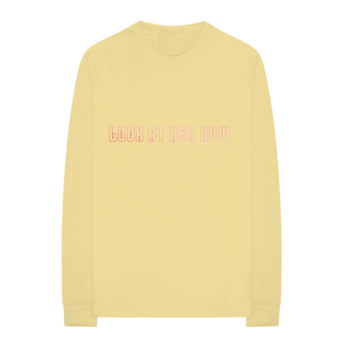 Selena Gomez : LOOK AT HER NOW YELLOW LONG SLEEVE