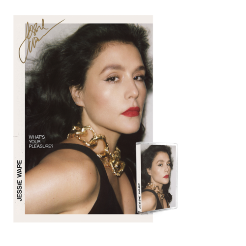 Jessie Ware: Cassette & Ltd Ed Hand Numbered Signed Album Art Print