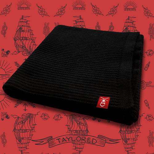 Roger Taylor: 'Taylored' Merino Wool Scarf