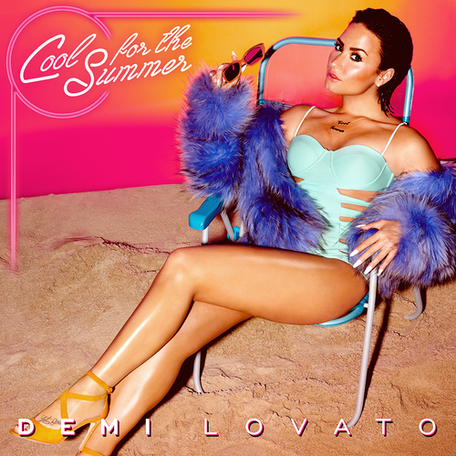 Demi Lovato,: Cool For The Summer CD Single 1 + Stickers