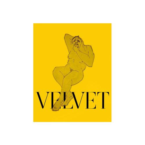 Velvet Negroni: NEON BROWN