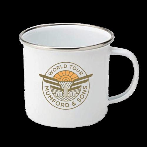 Mumford & Sons : Enamel Mug