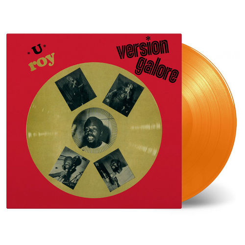 U-Roy: Version Galore: Limited Edition Orange Vinyl