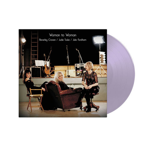 Judie Tzuke, Beverley Craven, Julia Fordham: Woman To Woman - Webstore Exclusive Lavender Vinyl