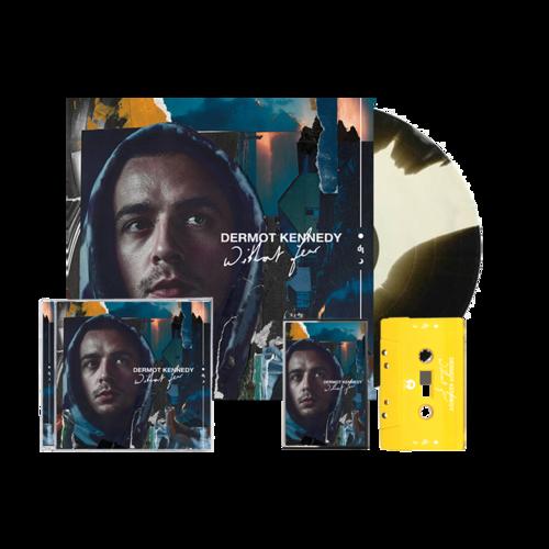 Dermot Kennedy: Without Fear: Marbled LP, Cassette + CD