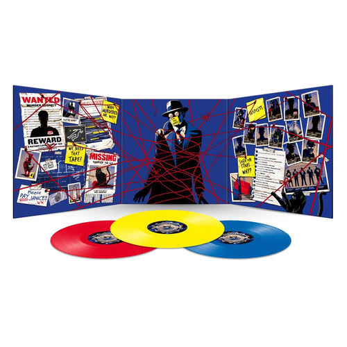 Douglas Adams: Dirk Gently's Holistic Detective Agency: Limited Edition Red, Yellow and Blue Vinyl