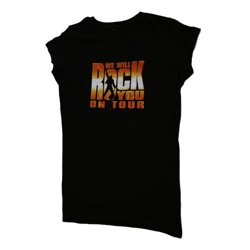 Queen: We Will Rock You Tour 2011 Skinny T-Shirt - Small