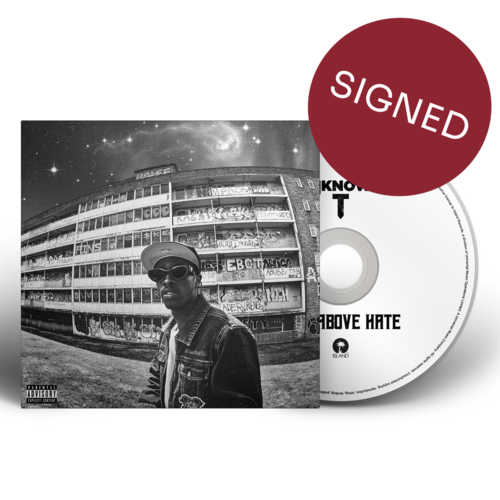 Unknown T: RISE ABOVE HATE: LIMITED EDITION CD + *SIGNED* ARTCARD