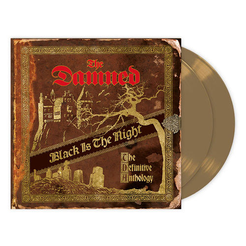 The Damned: Black Is The Night The Definitive Anthology: Quadruple Gold Vinyl