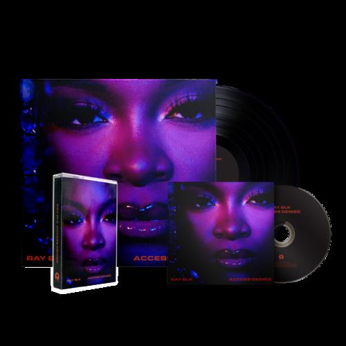 RAY BLK: Access Denied: Signed CD, Vinyl + Cassette