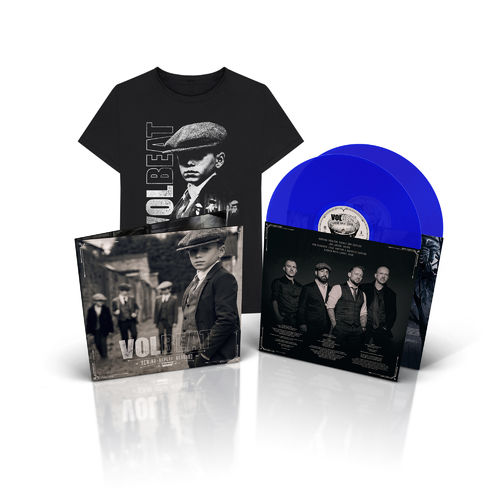 Volbeat: Limited Edition Blue Vinyl + Shirt