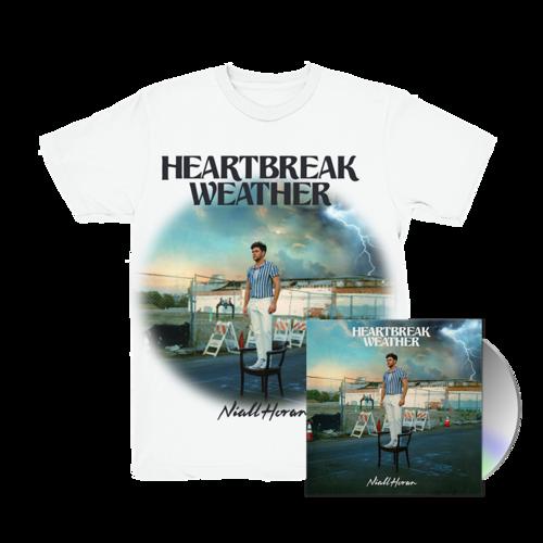 Niall Horan: CD & HEARTBREAK WEATHER WHITE T-SHIRT