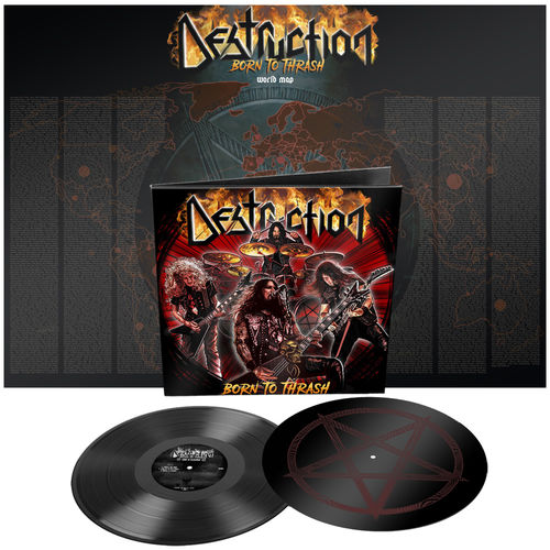 Destruction: Born To Thrash (Live In Germany) Limited Edition Gatefold Double Etched Vinyl