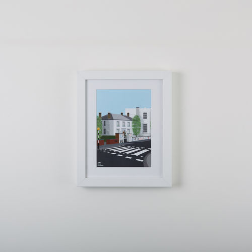 Abbey Road Studios: Abbey Road Crossing Modern Print