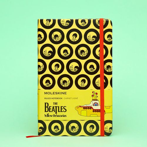 The Beatles: The Beatles Yellow Moleskine Notebook