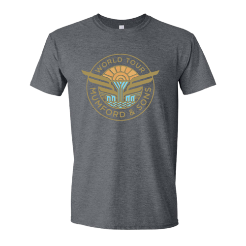 Mumford & Sons : WINGS WORLD TOUR T-SHIRT