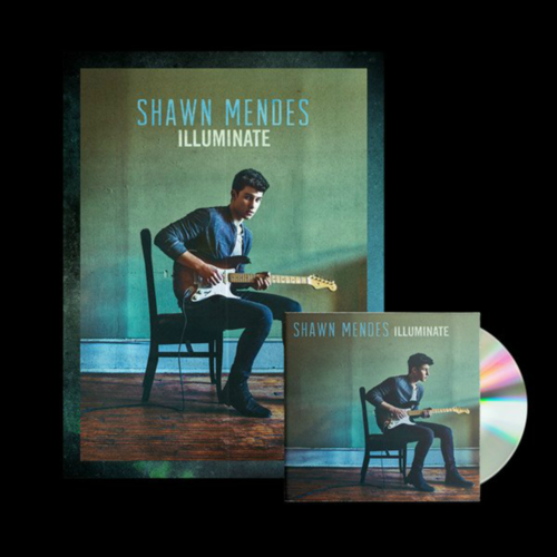 Shawn Mendes: Illuminate Signed Premium Deluxe CD Bundle